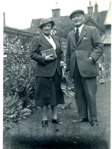 Mrs Margaret Blair and Dr Ribton Blair.  1955-56
